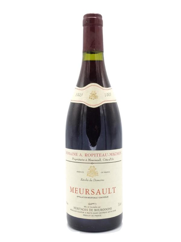 Meursault rouge Ropiteau Mignon 1993