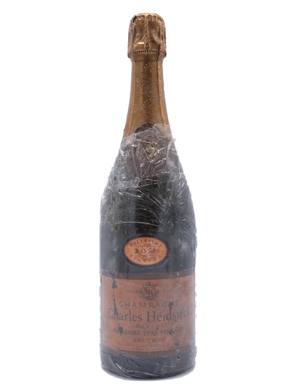 Champagne charles heidsieck 1996 rosé