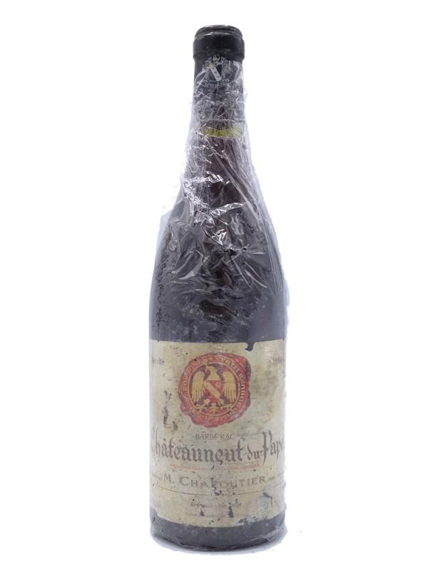 Chateauneuf du Pape Barberac Chapoutier 1998