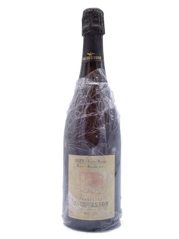 Jacquesson dizy terre rouges Champagne extra brut rose 2002