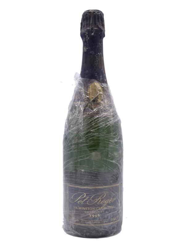 Pol Roger cuvee sir Winston Churchill brut champagne 1996