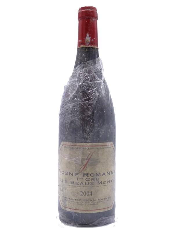 Vosne Romanée 1 er cru  Les Beaux Monts 2004  Jean  Grivot