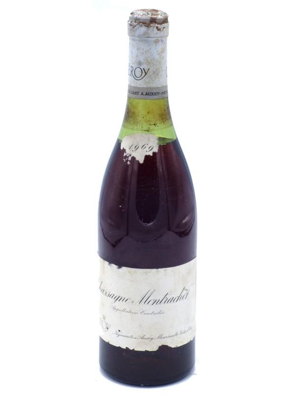 Chassagne Montrachet Leroy 1969