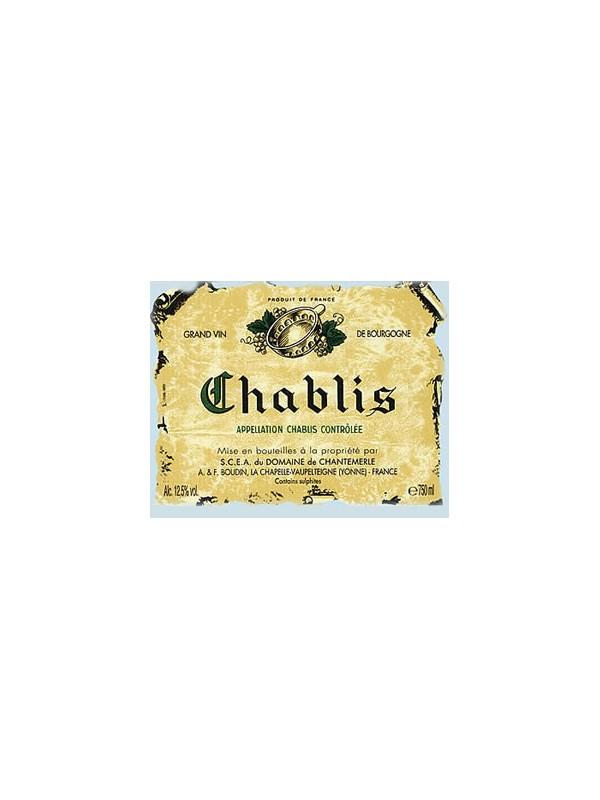 Chablis  2018   Domaine Chantemerle