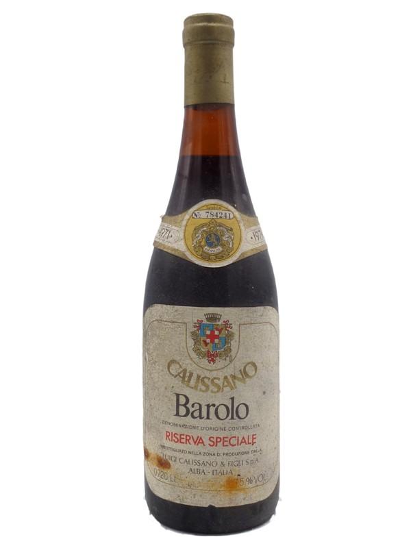 luigi calissano docg barolo piemonte italy  1971 riserva special