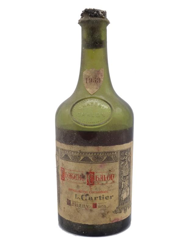 Vin Jaune Château Chalon Cartier  1953