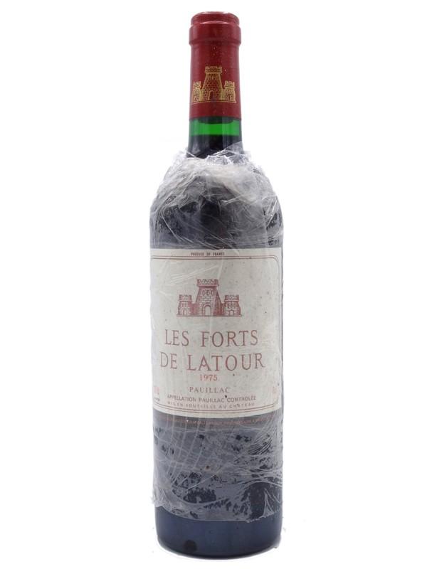 Forts de Latour 1975 secon vin du Château Latour