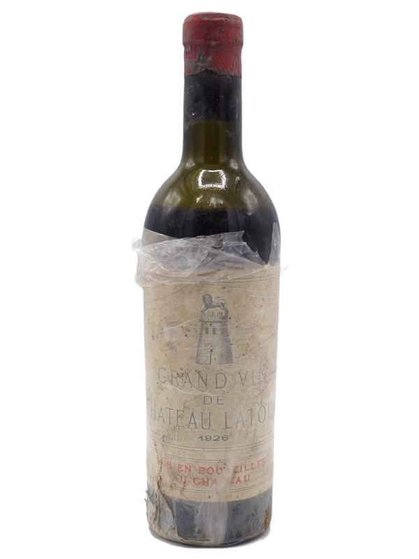 Château Latour 1926  grand vin du château Latour