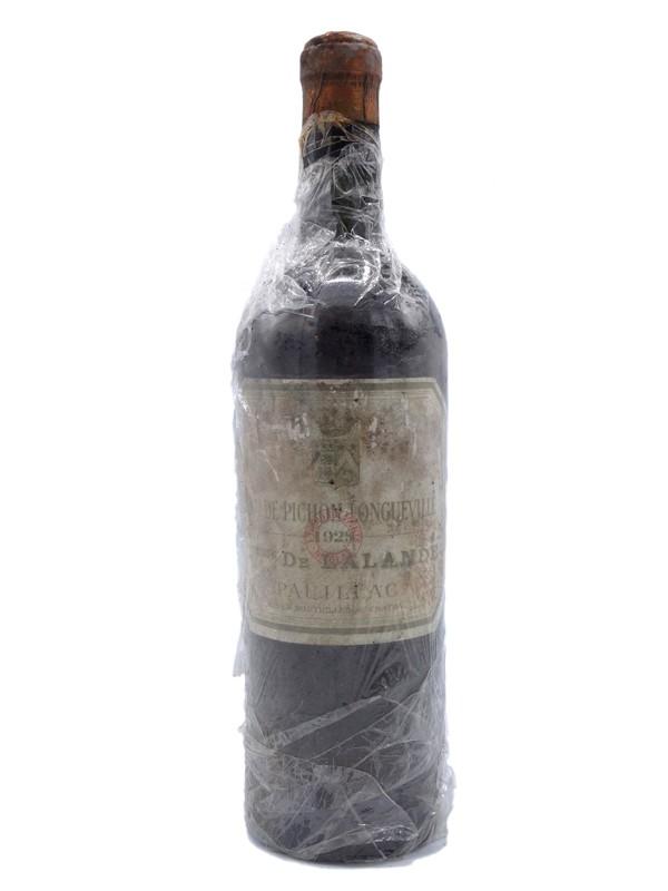 Pichon Longueville Contesse 1928