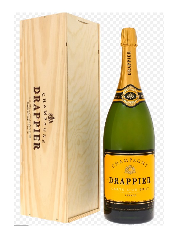 Mathusalem  Champagne Drappier carte d'Or  6 litres