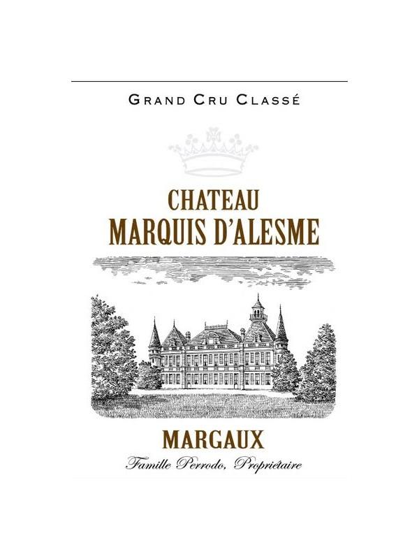 Marquis d'Alesme Becker 2016  Margaux