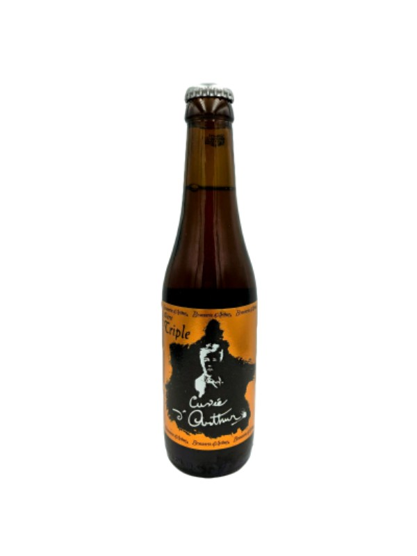 """Bière blonde Arthur """" hommage à Rimbaud"""""""
