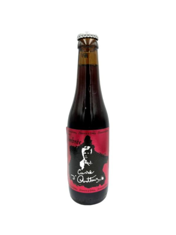 """Bière triple Arthur """" hommage à Rimbaud"""""""