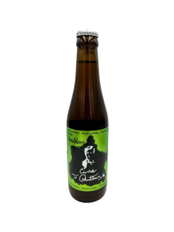 """Bière ambrée Arthur """" hommage à Rimbaud"""""""