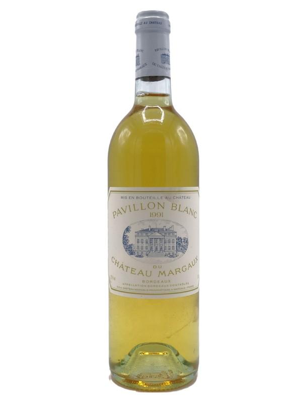 Pavillon blanc (Château Margaux ) 1991  CBO de 12 bouteilles