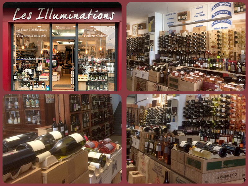 Facade Les Illuminations / Vintage08