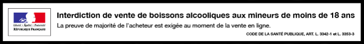 Interdiction de vente de boissons alcooliques aux moins de 18 ans